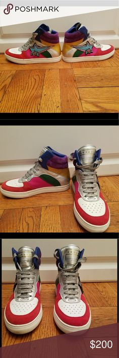 Marc Jacob style Eclipse multicolored size 38 Only worn few times so condition is very good bit to tight for me need half size bigger in brand  originally about 700 us with taxsize38euro Marc Jacobs Shoes Athletic Shoes