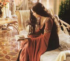 book, LOTR, and arwen resmi