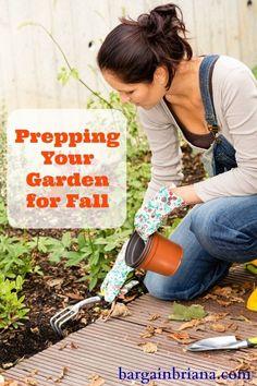 Gardener comes inside