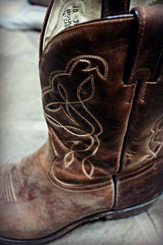 My cowboy boot man..