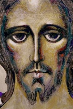 Artwork of Jesus Christ Our Savior Pictures Of Christ, Jesus Christ Images, Religious Pictures, Religious Icons, Religious Art, Anima Christi, Christian Artwork, Candle Art, Jesus Face