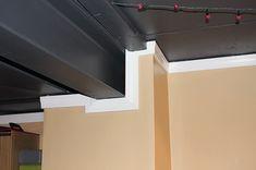 Flat Black Paint Basement Ceiling Ideas More