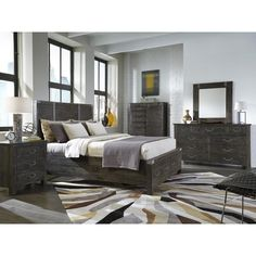Abington B3804 King Storage Bedroom Group by Magnussen Home