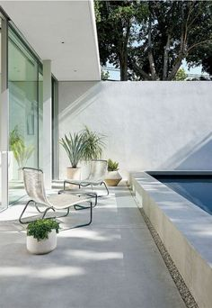 The Row LA   love indoor outdoor space and love a good salt water pool. I have built my dream home by 2020