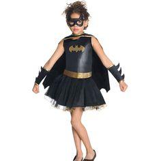 Halloween Cosplay Batgirl Costume Fancy Movies Batman Apparel Baby Girls Photography Performance Dancewear