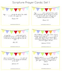 Free Printable Prayer Cards | Printable prayers, Prayer cards and ...