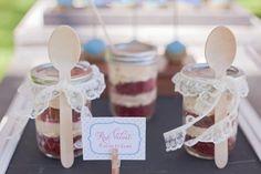 Bolo de pote – doces lembrancinhas para os convidados