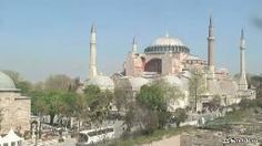 EarthCam delivers amazing live streaming views of the Hagia Sophia in Istanbul, Turkey. A popular tourist attraction, watch as visitors admire this historic structure. Hagia Sophia, Live In The Now, Istanbul, Taj Mahal, Earth, World, Pictures, Photography, Travel