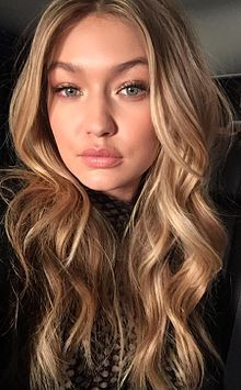 "Jelena Noura ""Gigi"" Hadid (1995) ♦ American fashion model and television personality."