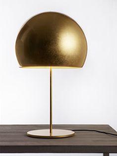 Lámpara de mesa de aluminio con luz directa Colección La Lampada by Opinion Ciatti | diseño Lapo Ciatti