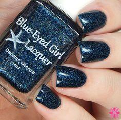 Blue-Eyed Girl Lacquer: Siren Demands: Treat Yo Self (Siren Series) #blueeyedgirllacquer #begl #beglove #swatch #indiepolish #beglsiren
