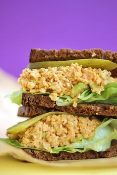 This Buffalo Chickpea Salad Sandwich is packed with fiber, plant based protein and finished off with a hot spicy kick. It's guaranteed to become your next brown bag lunch staple. Even though I'm not vegan, I love experimenting with plant based recipes. I encourage people to eat more plants as part of a healthy balanced...Read More »