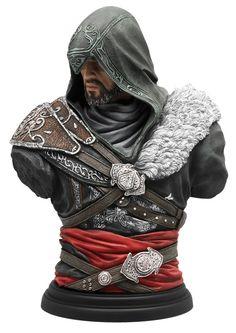 Assassin's+Creed+Legacy+Collection+buste+Ezio+Mentor+UBICollectibles