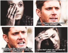 2x22 All Hell Breaks Loose part 2 and 8x07 A Little Slice Of Kevin - Oh Dean....