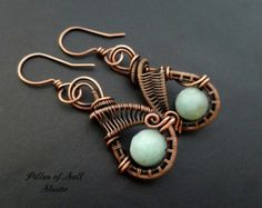 Wire Wrapped pendant necklace As Seen on by PillarOfSaltStudio