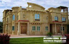 Modern Villas 2013 Exterior Designs And Modern Houses Exterior Designs Ideas  2013 With Modern Exterior Roof Ideas And Exterior Villa Windows Designs  Photos, ...
