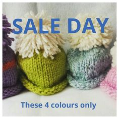 SALE DAY Knit Hat with rolled edge and an oversized by Bluebird58 https://portal.myfanshawe.ca/employees/Pages/default.aspx
