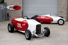 The So-Cal Speed Shop Coupe & '51 Belly Tank Lakester