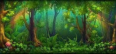 59 Ideas for fantasy landscape illustration cartoon background Background Drawing, Cartoon Background, Background Images, Forest Background, Gardening Photography, Landscape Photography, Forest Cartoon, St Patricks Day Pictures, Places