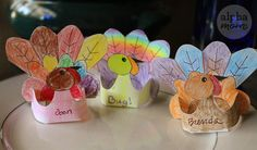 As you know, the Thanksgiving table is the center of all the action. Help kids get involved by making the place cards. We provide the template. They fill in the details.