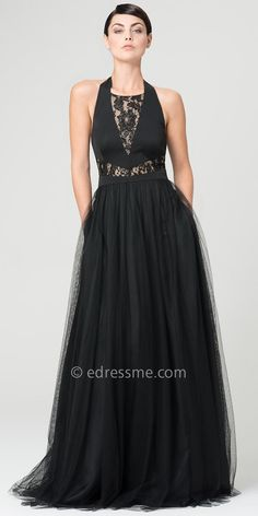 Lace Bodice Ball Gown Dresses by Aidan Mattox-image
