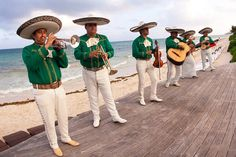 mariachi bands always make for a really festive party  Photography by http://elizabethmedina.com, Event Design and Planning by http://amberevents.com