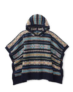 Hooded Fair Isle Sweater - Girls 7-16 Sweaters - RalphLauren.com