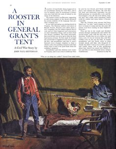 Saturday Evening Post Illustrated by Mitchell Hooks September 1960