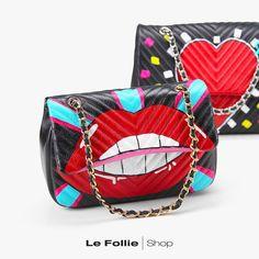 Borse MIA BAG Lips rosso Bago, Spring Summer 2018, Metallica, Coin Purse, Purses, Handbags, Coin Purses, Wallets, Purses And Handbags