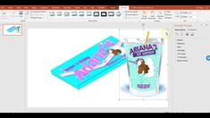 Publisher Party Favor - Capri Sun Juice Pouch Template and Mock Up - Unicorn Theme Diy Party, Party Favors, Party Ideas, Sun Template, Templates, Diy Juice Pouches, Capri Sun Juice, Microsoft Publisher, Chip Bags
