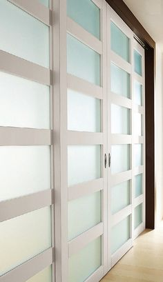 Glass Closet Doors and Room Dividers