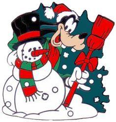 goofy and snowman Disney Merry Christmas, Christmas Yard Art, Christmas Cartoons, Christmas Scenes, Goofy Disney, Bambi Disney, Disney Love, Bugs Bunny, Tweety