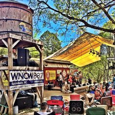 The Skunk Music Fest in Greenville, SC. By @barbebrownmorris // yeahTHATgreenville