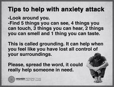Tips tegen paniekaanval