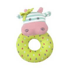 Entertain your baby with the Organic Farm Buddies Belle the Cow Teething Rattle from Apple Park. The adorable plush design is easy for little hands to hold and shake. Organic cotton construction will give you peace of mind when your baby starts to chew. Toddler Toys, Baby Toys, Organic Baby, Organic Cotton, Cow Toys, Green Toys, Eco Friendly Toys, Natural Toys, Baby Teethers