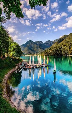 Lake Ledro,Italy #italyvacation #LandscapeSea
