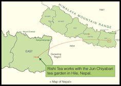 nepal tea map - Recherche Google