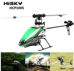 Banggood, Hisky, HCP100S, 6CH, 2.4Ghz, Dual Brushless, Flybarless, RC Helicopter, BNF, discount, coupon, code: USA000