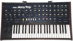 Korg Mono/Poly. I used to have one of these too. I'd love a chance to play with one again -- you could do some great stuff with the four oscillators.