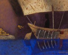 ganesh pyne | Sanchit Art | Ganesh Pyne Paintings | Art | Gallery