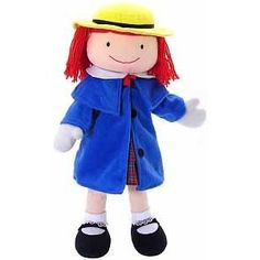 """Madeline Doll by Madame Alexander: Always a favorite with her winning smile and red hair! Made of cloth, 18"""", $30.43"""