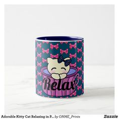 Adorable Kitty Cat Relaxing in Pretty Pink Tea Cup Adorable Kitty Cat Relaxing in Pretty Pink Tea Cup Adorable Kitty Cat Relaxing in Pretty Pink Tea Cup Pretty Roses, Pretty In Pink, Girls Cup, Pink Tea Cups, Tea Mugs, Pink Roses, Special Gifts, Cute Cats, Relax