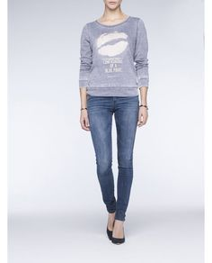 Comfy sweater Maison Scotch #gossiproosendaal