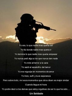 dia del veterano frases (5) Military Quotes, Military Love, Faith In Humanity Restored Military, Veterans Day Poem, Fight For Your Dreams, Funeral Poems, Army Infantry, My Marine, Band Of Brothers