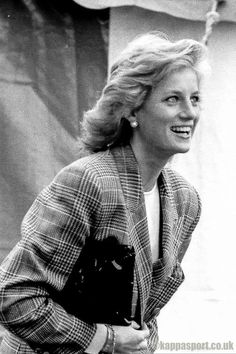 10 Sep 1989 attending the Burghley horse trials in Lincolnshire, she presented the prizes