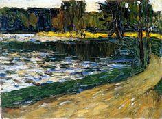 Wassily Kandinsky, English Garden, 1901