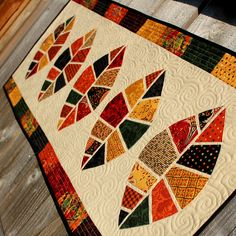 Give Thanks Table Runner Thanksgiving by frivolous necessity, via Flickr