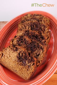 Don't throw away those over-ripe bananas! Use up your old fruit with Michael Symon's Chocolate Peanut Butter Banana Bread recipe!
