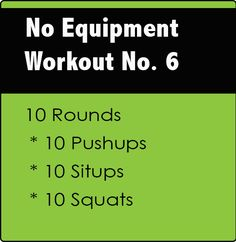 CrossFit-Workout-6 I like that this is simple... not a bunch of complicated exercises that I don't know how to do
