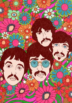 The official website of Cosmic Magazine – discover the latest news on Pink Floyd, Led Zeppelin, The Beatles, Tame Impala, and more of your favorite acts. Hippie Art, Hippie Vibes, Hippie Wallpaper, Psychedelic Drawings, Hippie Painting, Vintage Hippie, Retro Art, My New Room, Aesthetic Art